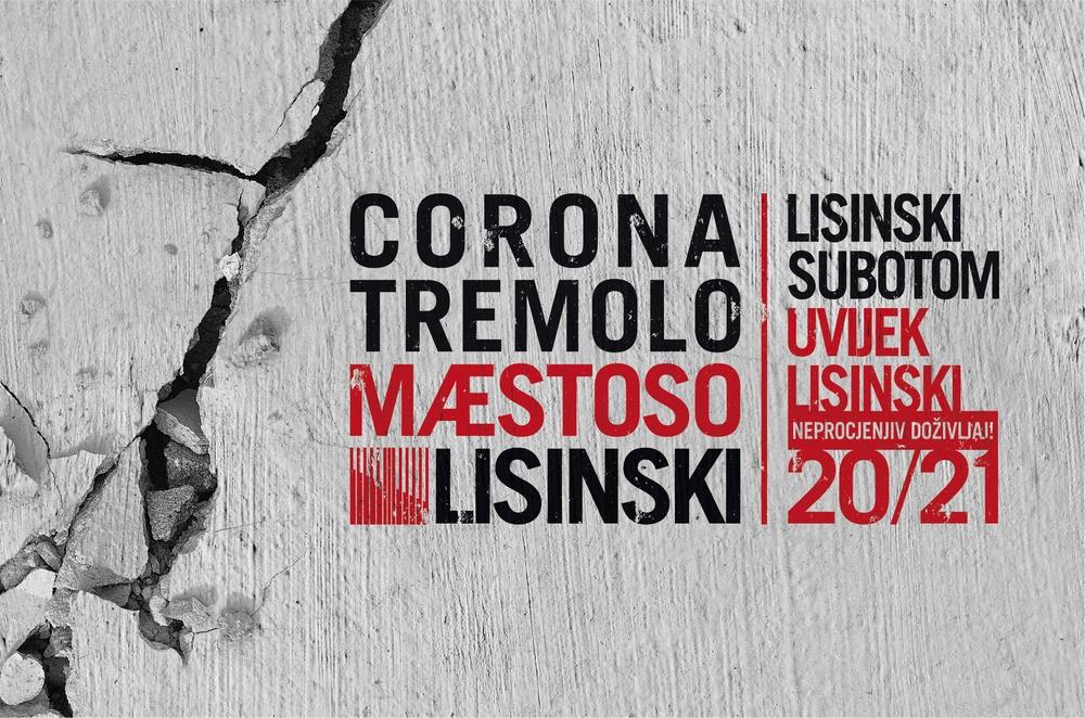 Lisinski subotom 2020/21: Corona. Tremolo. Maestoso.