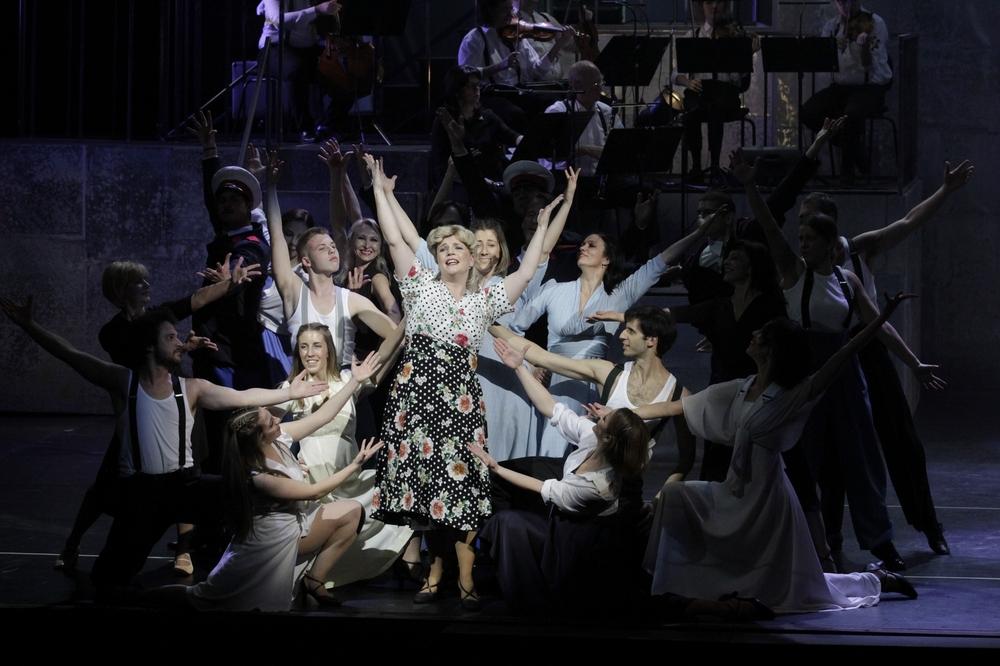 Mjuzikl 'Evita' na Međunarodni dan žena u Lisinskom