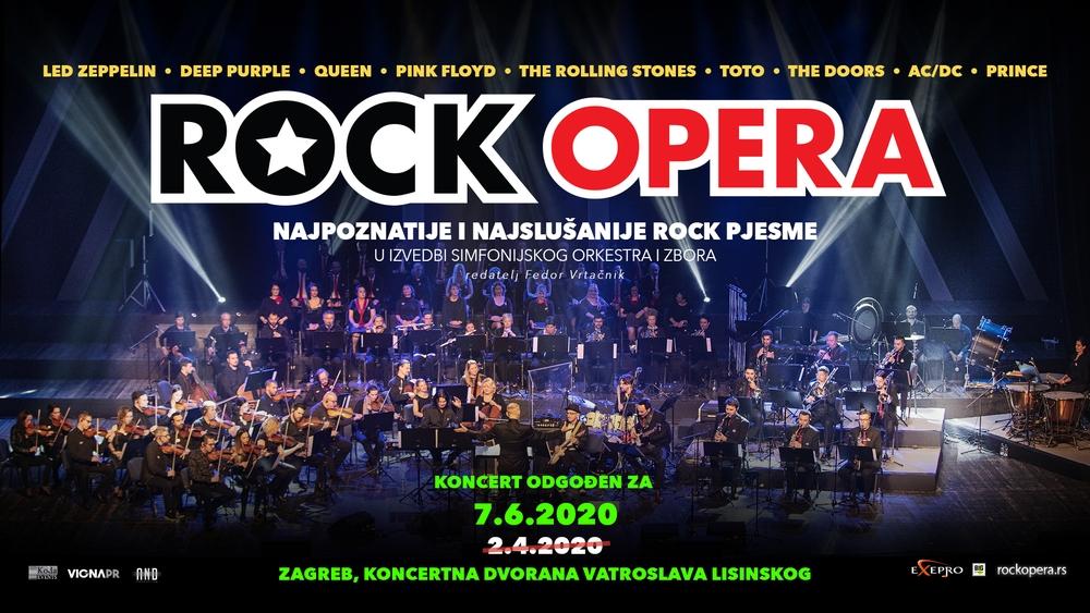 Rock Opera Najslavnije I Najbolje Pjesme U Izvedbi Simfonijskog